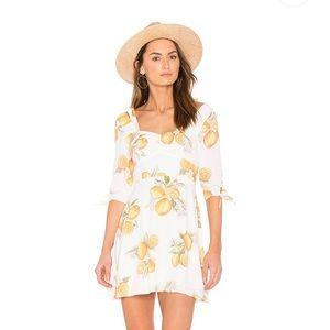 For Love and Lemons Limonada Mini Dress, Small